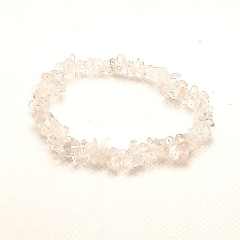 Rock stone crystal bracelet chips A-class Vitaest Baltic OÜ