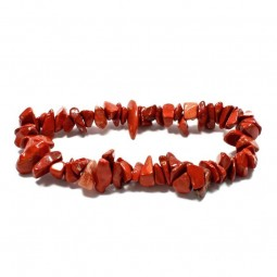 Red Jasper bracelet with chips Vitaest Baltic OÜ
