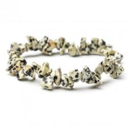 Dalmatian jasper bracelet from chips Vitaest Baltic OÜ