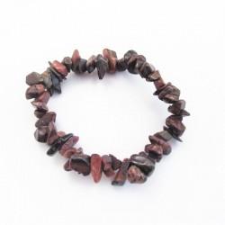 Tiger Eye bracelet red chips Vitaest Baltic OÜ