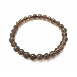 Smoky quartz bracelet 6mm Vitaest Baltic OÜ