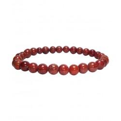 Punane jaspis käevõru 6mm pärlitest Vitaest Baltic OÜ