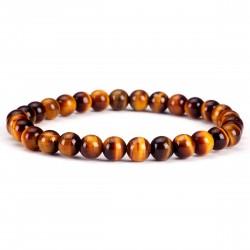 Tiigrisilm käevõru 6mm pärlitest Vitaest Baltic OÜ