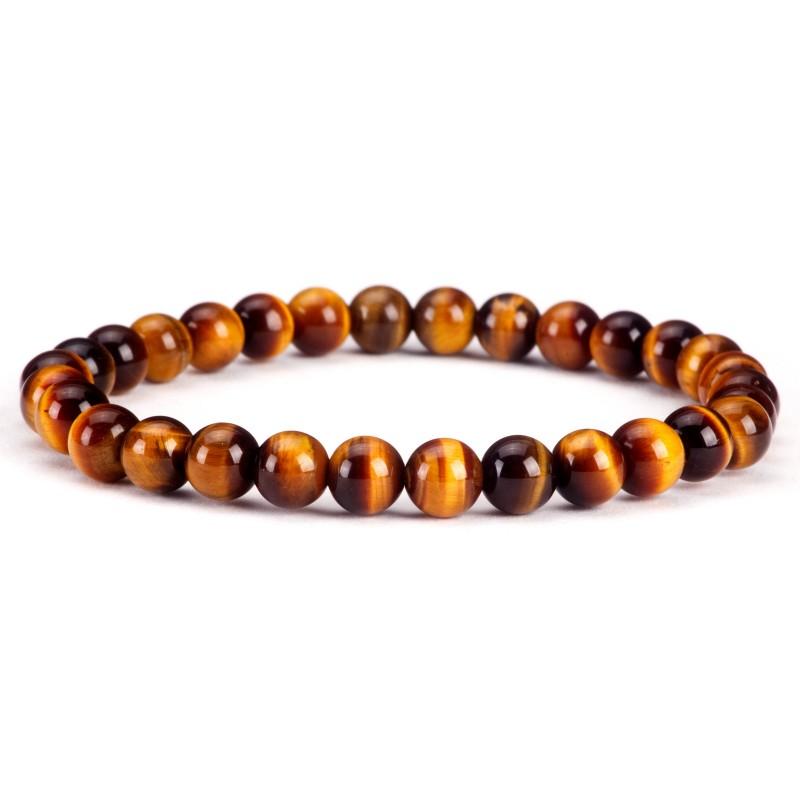 Tiger Eye bracelet beads 6mm Vitaest Baltic OÜ