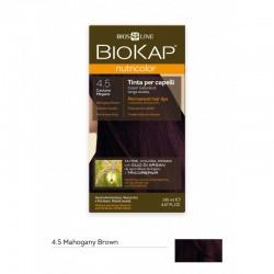 BIOKAP NUTRICOLOR 4.5 / MAHOGANY BROWN HAIR DYE BIOKAP
