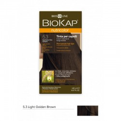 BIOKAP NUTRICOLOR 5.3 / LIGHT GOLDEN BROWN HAIR DYE BIOKAP
