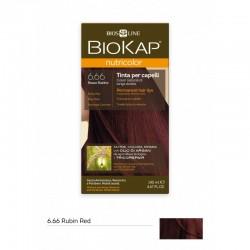BIOKAP NUTRICOLOR 6.66 / RUBIN RED HAIR DYE BIOKAP