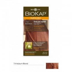 BIOKAP NUTRICOLOR 7.4 / AUBURN BLOND HAIR DYE BIOKAP