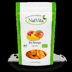 Mango kuivatatud viilud ÖKO, 100g NatVita