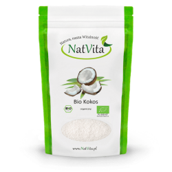 Coconut flakes ECO, 100g NatVita