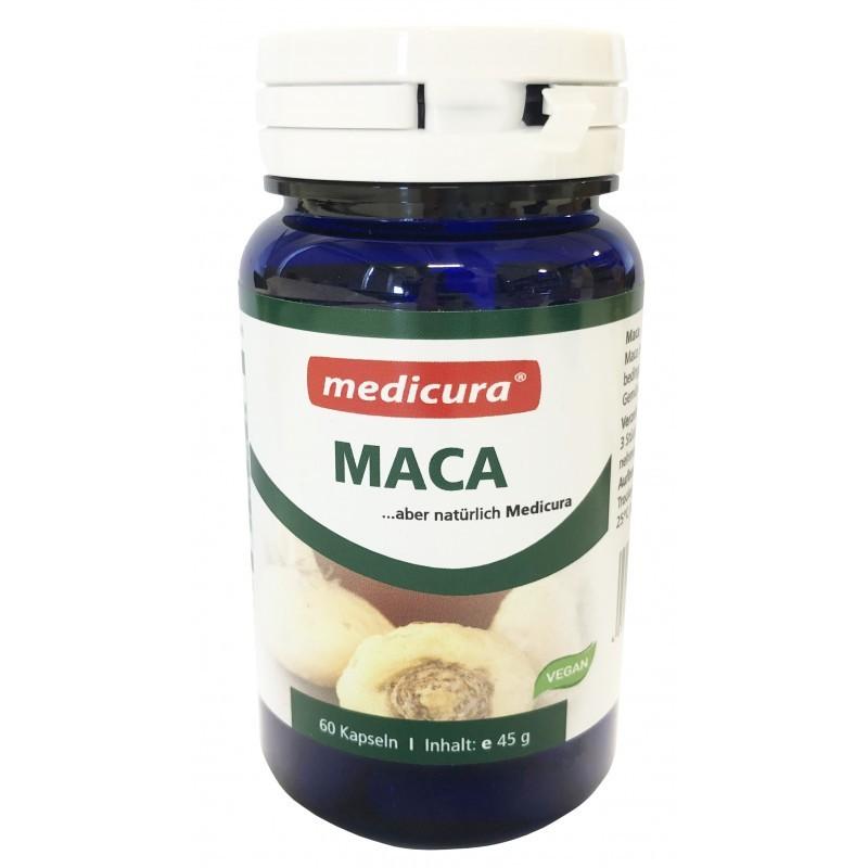 MACA CAPSULES, 60PCS MEDICURA
