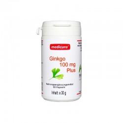 Ginkgo + rohelise tee ekstrakt, kapslid 60tk MEDICURA