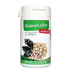 Rohelise kohvi kapslid, 60tk MEDICURA