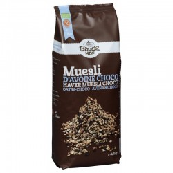 GLUTEN FREE OAT MUESLI WITH CHOCOLATE, 425G Bauckhof