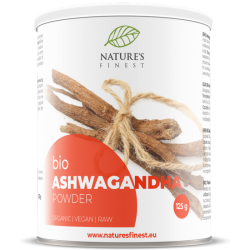 ASHWAGANDHA ROOT POWDER, 125G / DIETARY SUPPLEMENT NATURE'S FINEST BY NUTRISSLIM