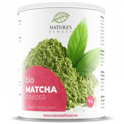 MATCHA PULBER, 70G NATURE'S FINEST BY NUTRISSLIM