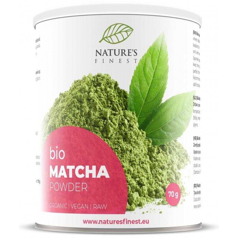 MATCHA POWDER, 70G NATURE'S FINEST BY NUTRISSLIM