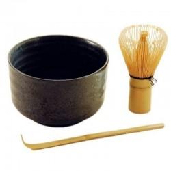 Matcha set (bowl, whisk and spoon) Matcha magic