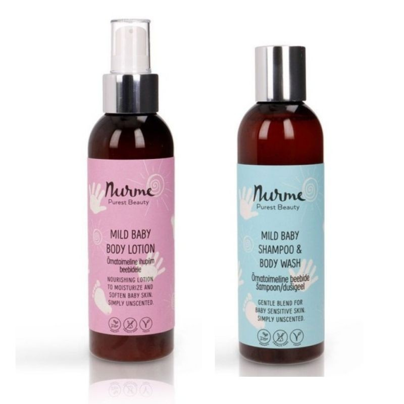 SHAMPOO & BODY WASH & BODY LOTION Nurme Looduskosmeetika
