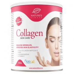 """KOLLAGEENIJOOGI PULBER NAHALE """"SKIN CARE"""", 120G NATURE'S FINEST BY NUTRISSLIM"""