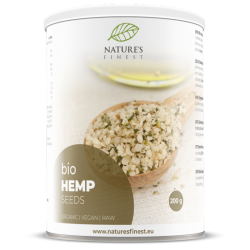 HEMP SEEDS, HULLED, 200G NATURE'S FINEST BY NUTRISSLIM