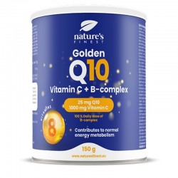 COENZYME Q10 + VITAMIN C AND B-COMPLEX DRINK POWDER, 150G NATURE'S FINEST BY NUTRISSLIM