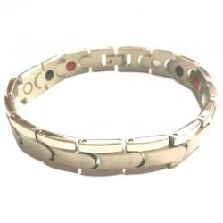 Bracelet wide silver magnetic-germanium-infrared ESTONIA