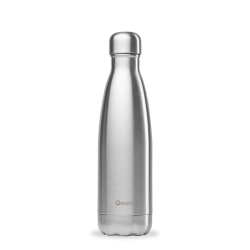 INSULATED STAINLESS STEEL THERMO BOTTLE, INOX, 500ML QWETCH