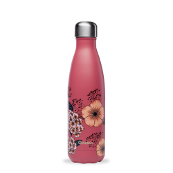 INSULATED STAINLESS STEEL THERMO BOTTLE, ANEMONES, 500ML QWETCH