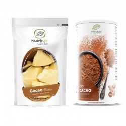 Basic set for making luxury raw chocolate NATURE'S FINEST BY NUTRISSLIM