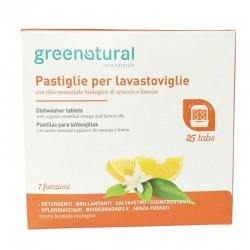DISHWASHER TABLETS, 7IN1, 25PCS Greenatural