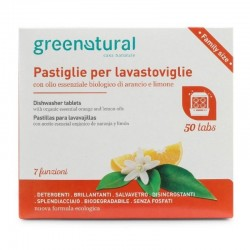DISHWASHER TABLETS, 7IN1, 50PCS Greenatural