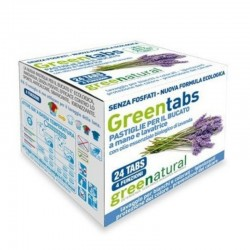POWDER LAUNDRY DETERGENT TABS, 24 PCS, LAVENDER Greenatural