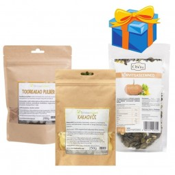 Raw chocolate making kit + GIFT Pumbkin seeds NATURE'S FINEST BY NUTRISSLIM