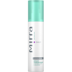 TONIC LOTION FOR DRY SKIN WITH SILK PEPTIDES AND GINSENG MIRRA