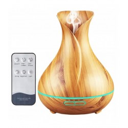 Diffuser with remote control, wood color Vitaest Baltic OÜ