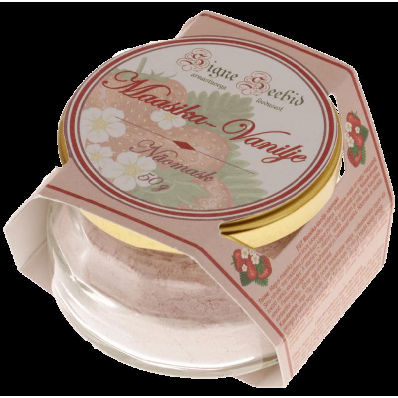 Maasika-Vanilje näomask Signe Seebid