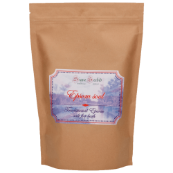 Epsom salt for bath 1200g Signe Seebid