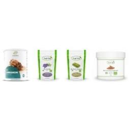 Meie tootevalik täieneb pidevalt uute maitseainetega. Maitseained hetkel saadaval – lavendel, tesiloni kaneel , sidrunhein.