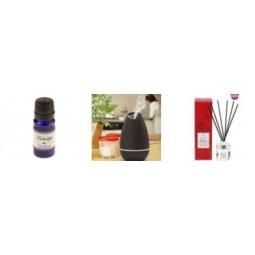 Pakume suures valikus eeterlike õlisid ja difuusereid. Aroomteraapiat peetakse alternatiivmeditsiiniks, mille läbi viimiseks kasutatakse erinevaid eeterlike õlisid ehk naturaalseid aroomõlisid. Aroomteraapia võib mõjutada meeleolu ja tervist.