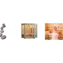 Infrapunasauna virkistää ja rentouttaa, polttaa kaloreita, lievittää stressiä. Käyttö on turvallista ja helppoa koska vain, lämpiää nopeasti. Säästää myös huomattavasti energiaa perinteiseen saunaan verrattuna.