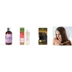 Pakume oma poes laias valikus looduslikke juuksehooldustooteid kogu perele. Paljud šampoonid, palsamid, maskid, värvid sobivad kasutamiseks veganitele. Enamus tooted on ökomärgistusega. Proovi kindlasti eestimaiseid shampoone ja palsameid
